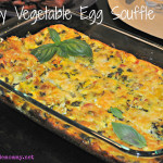 Easy Vegetable Egg Souffle by Homemade Mommy