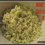 Indian Spiced Cauliflower Rice by Homemade Mommy