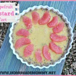 Grapefruit Custard Tart by Homemade Mommy